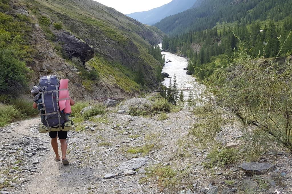 Пеший переход в верховья ручья Орой