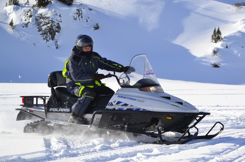 Снегоход Polaris Wide Track LX, 2013 г.