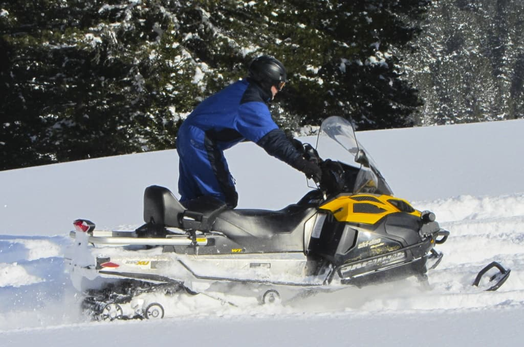 Снегоход BRP Ski-Doo SKANDIC WT 600 ACE, 2013 г.