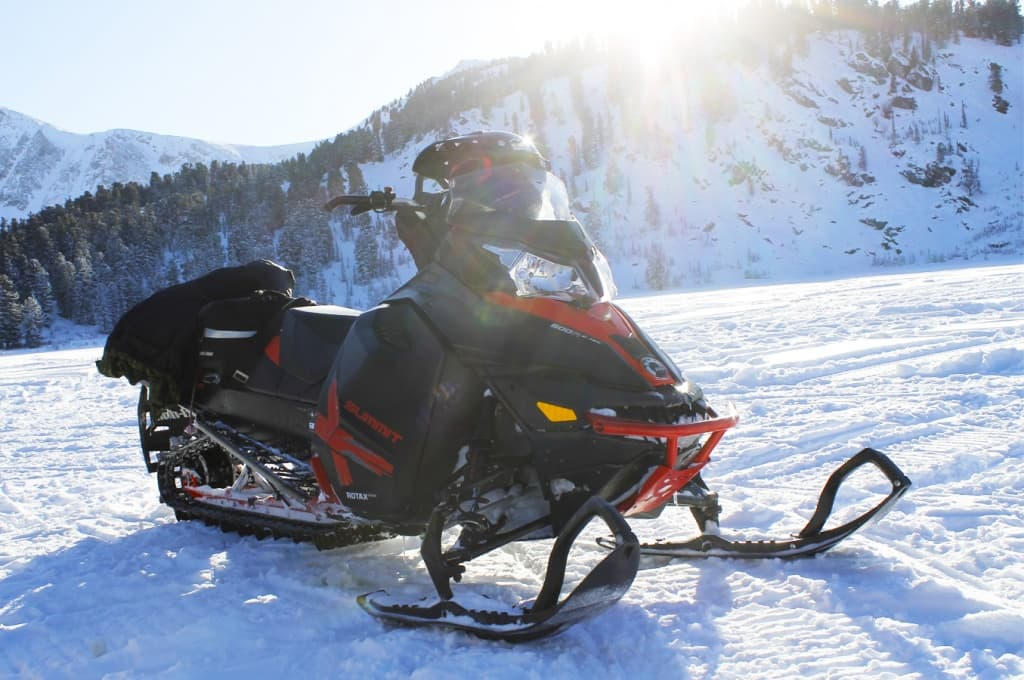 Снегоход BRP Ski-Doo Summit X-800 E-TEC, 2014 г.